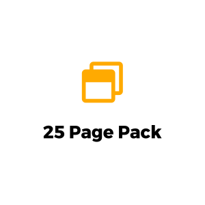 25 page pack