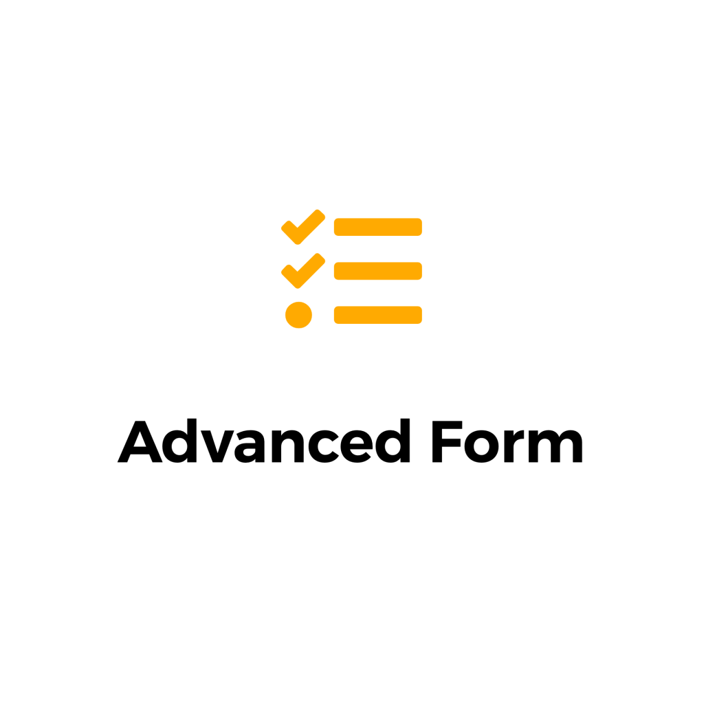 advanced form