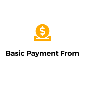 basic payment form