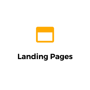 custom landing pages