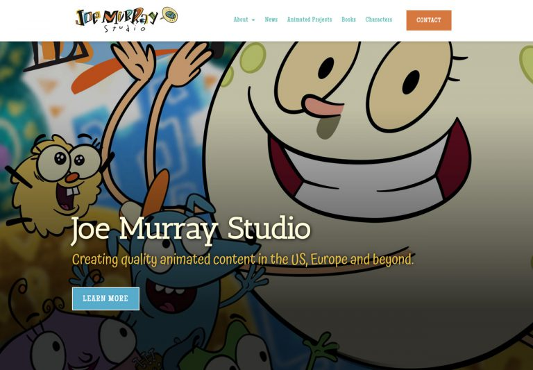 Joe Murray Studio by Brian Dominey Desgin